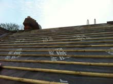 Lisburn Roofers Circle Slate 3