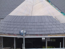 Lisburn Roofers Circle Slate 2